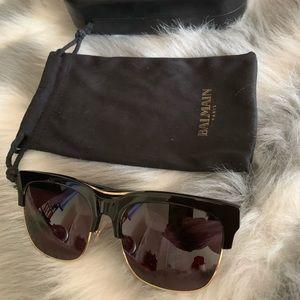 Balmain Sunglasses black. Like new